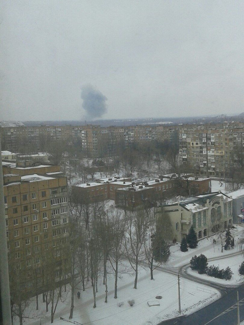 Взрыв на Донецком заводе химизделий
