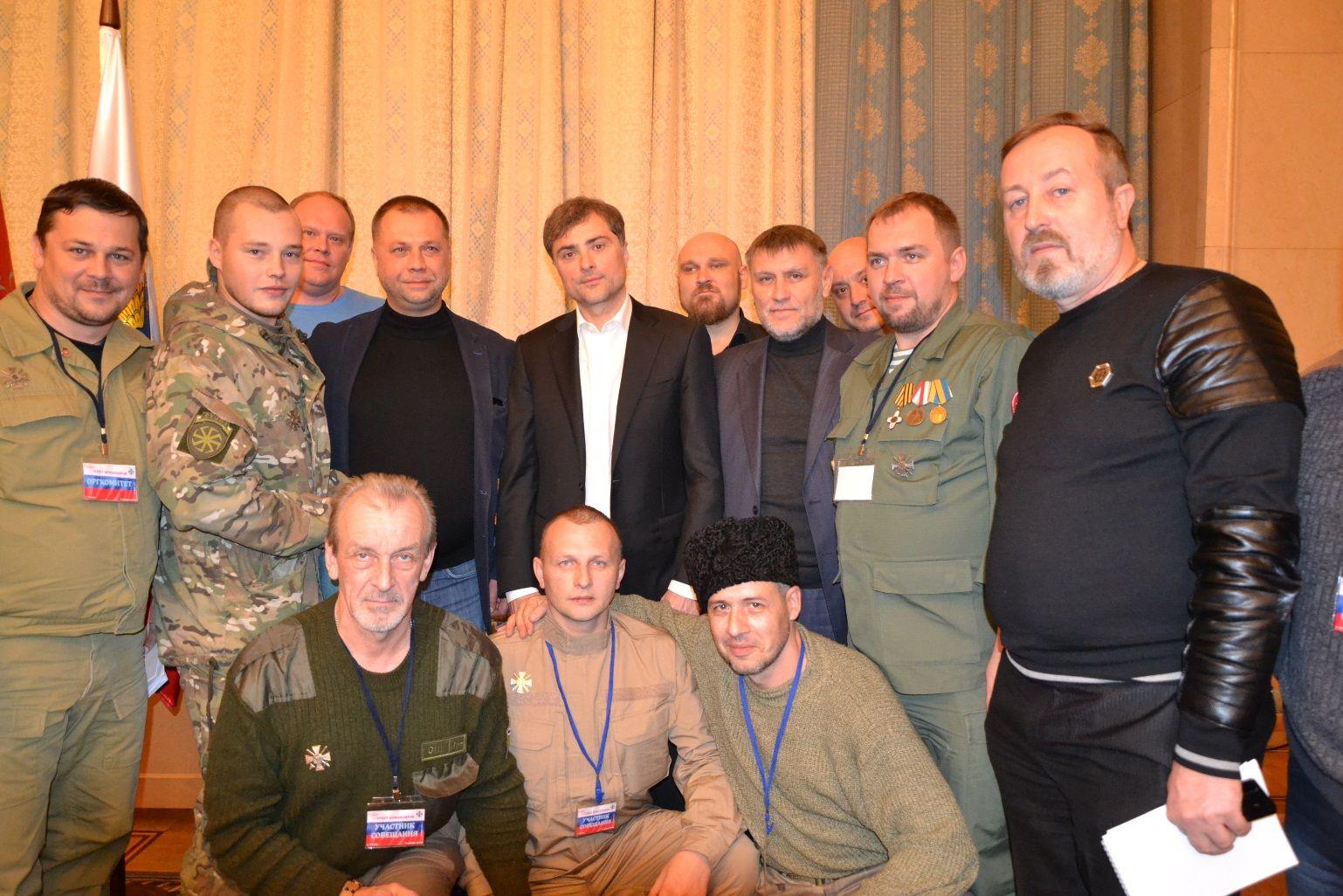 Волонтеры рассказали о расколе в союзе наемников Суркова