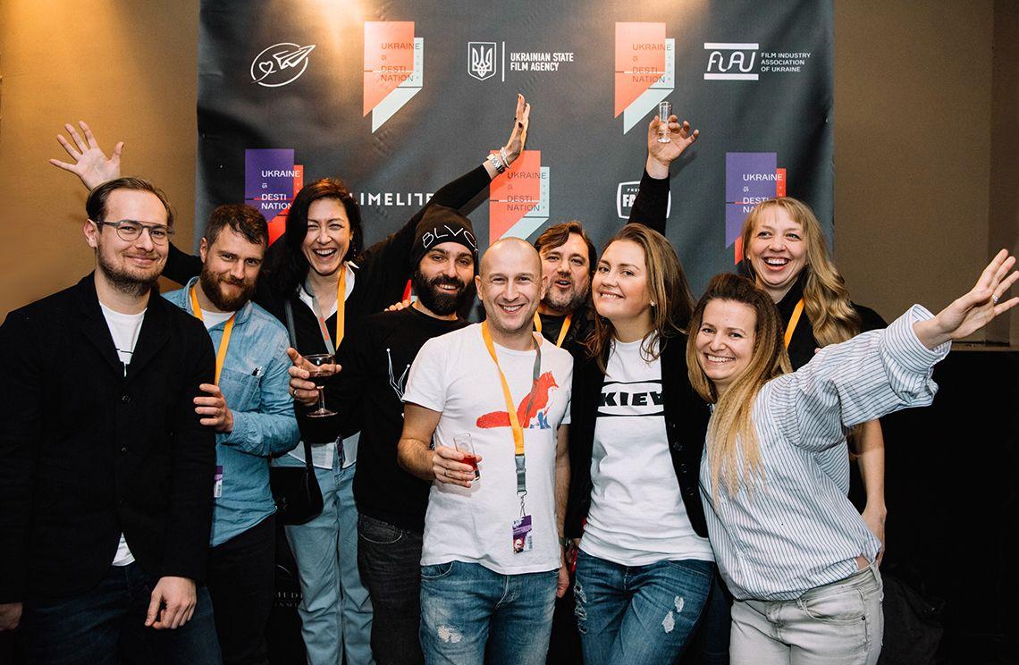 Украинские продюсеры-учредители Ассоциации киноиндустрии Украины