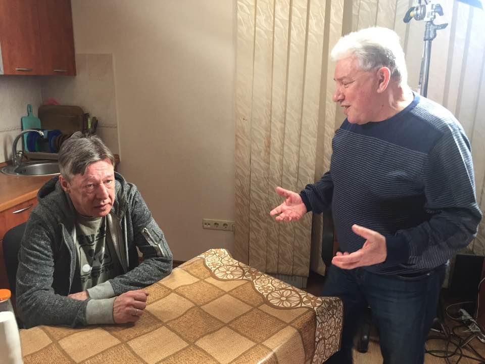 Олег Филимонов, Михаил Ефремов