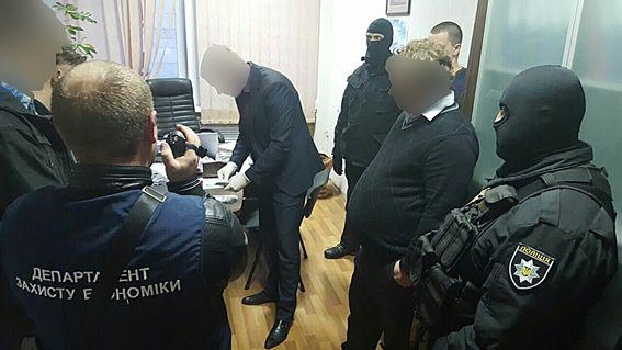 Задержание руководителя харьковского завода.