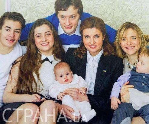 Семейство Петра Порошенко