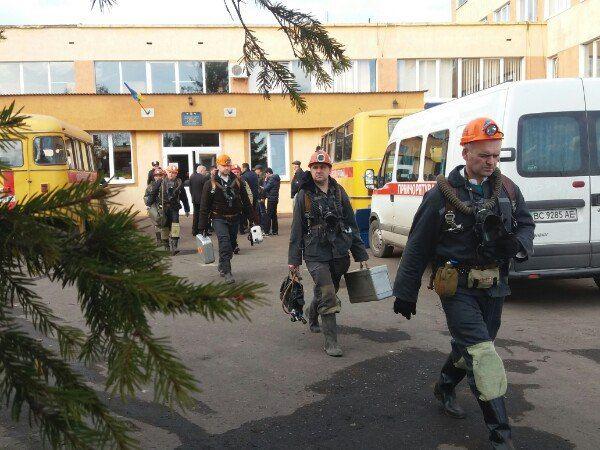 На Львовщине госпитализированы 14 шахтеров
