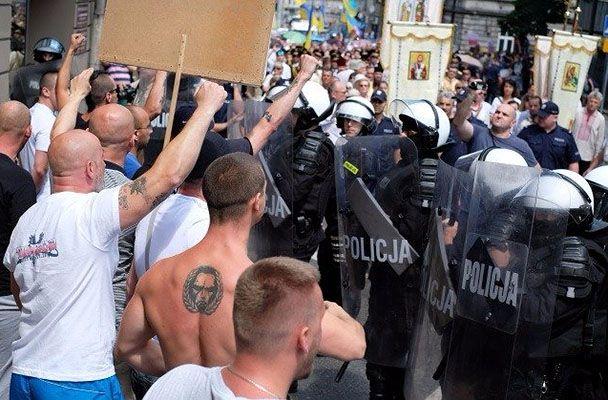 Акция польских националистов