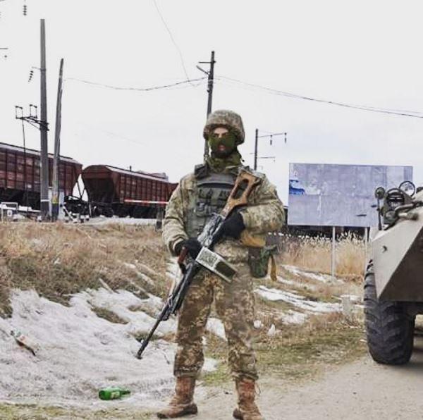 Блокада Донбасса, иллюстрация