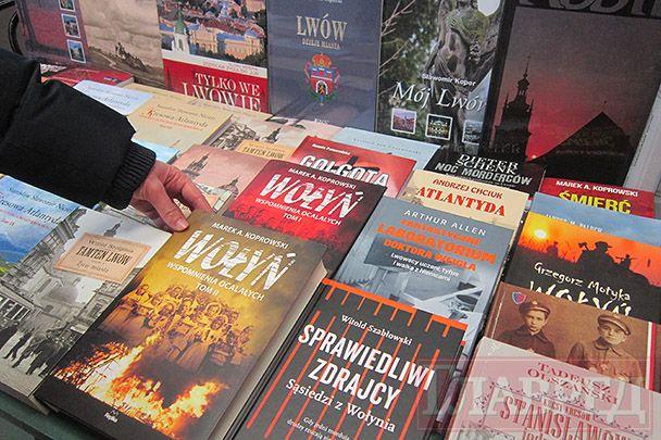 Польские книги о Волынской трагедии