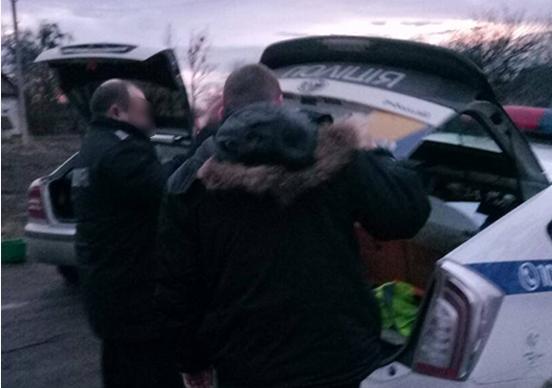Злоумышленники пытались скрыться с места происшествия на служебном авто