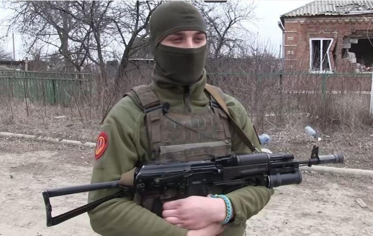 Бойцы АТО поздравили женщин с 8 марта