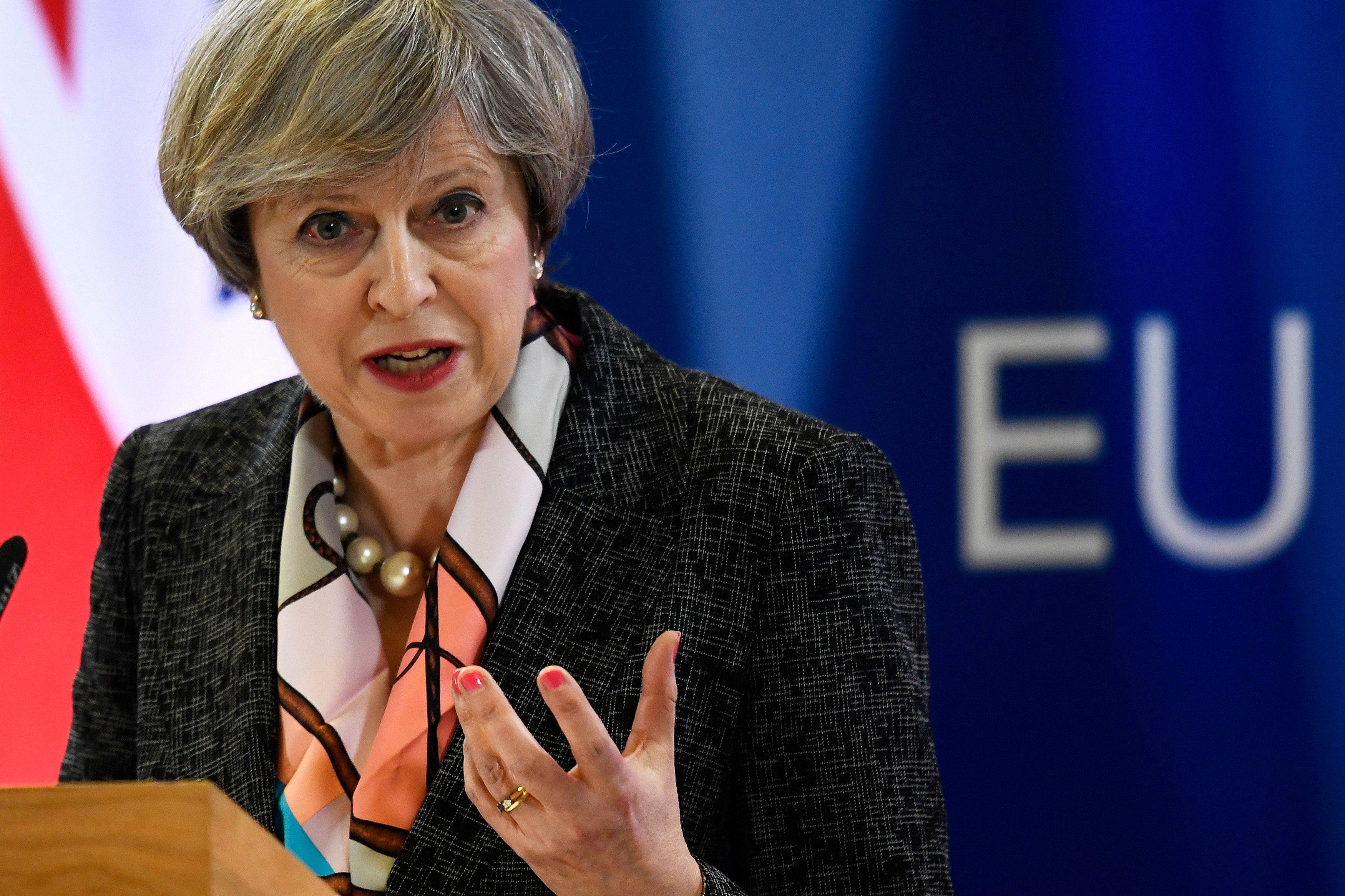 Тереза Мэй, премьер, Британия