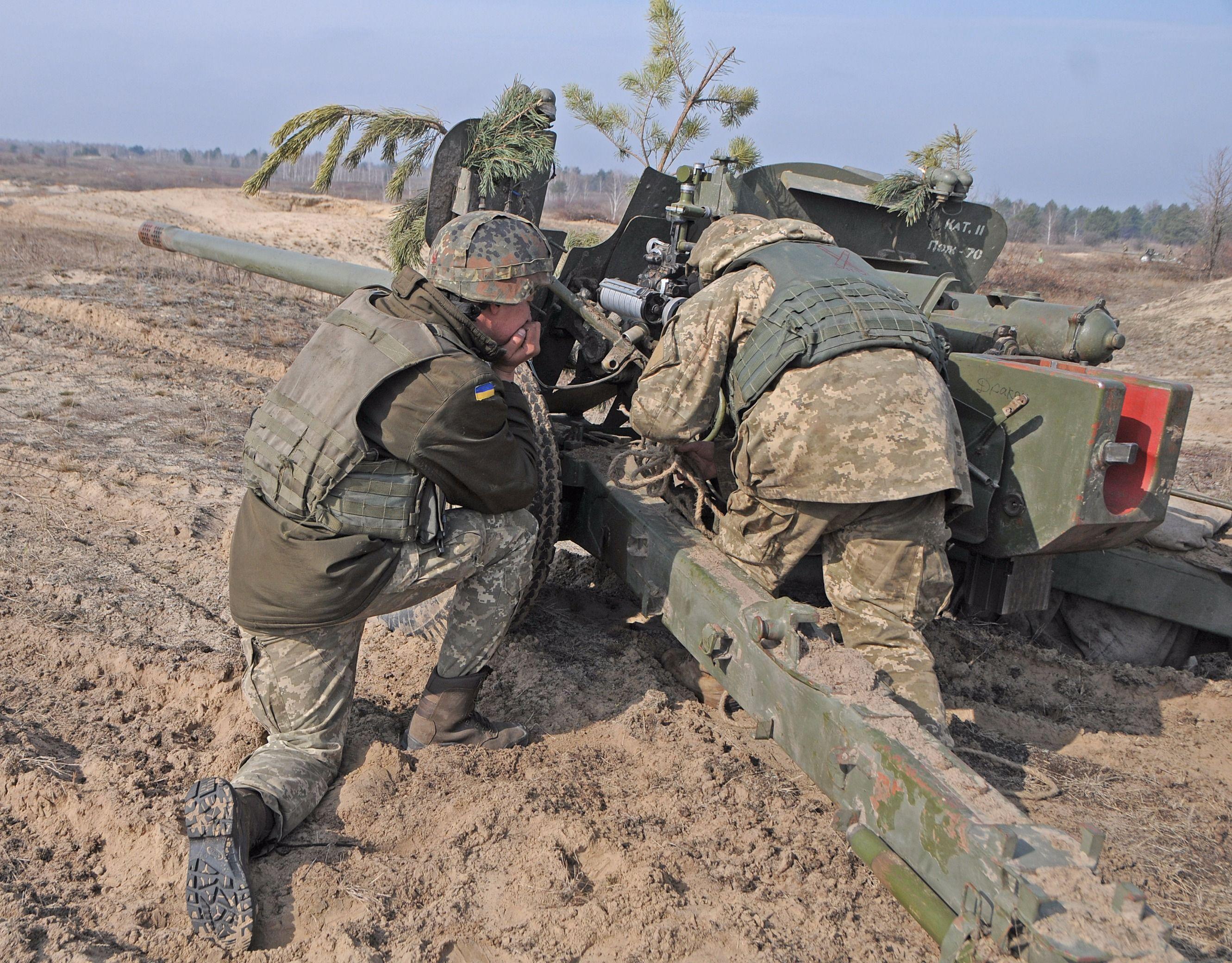 Боевые стрельбы ВСУ