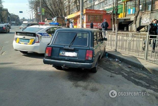 Полиция обнаружила автомобиль ВАЗ.