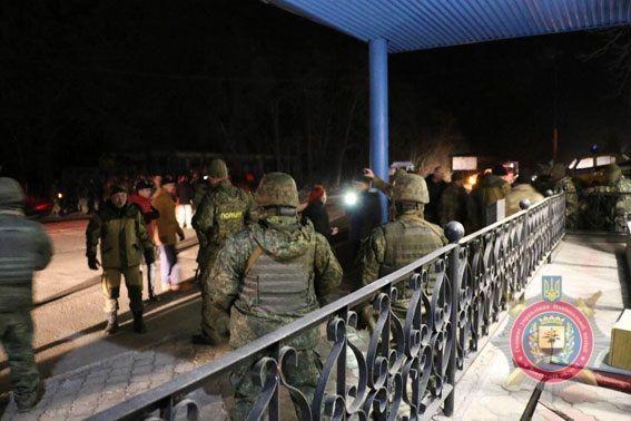 Под Славянском произошел конфликт