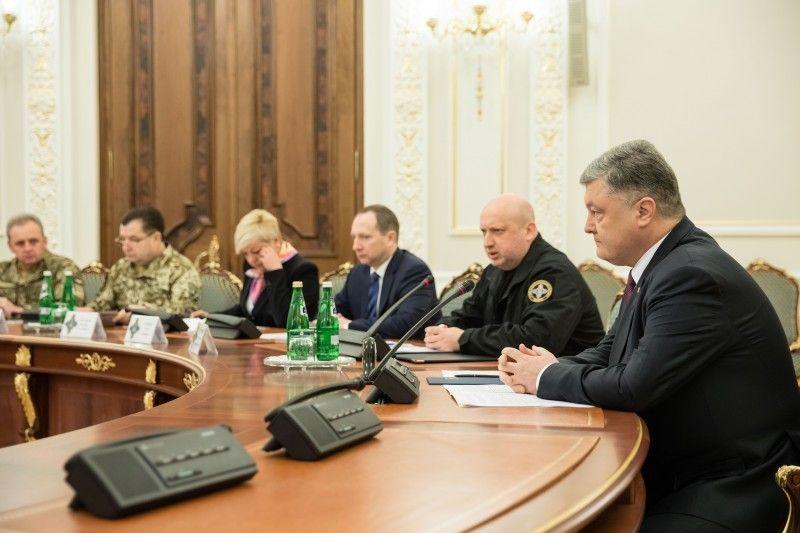 СНБО отметил, что на потребности армии в 2019 году истратят 5% ВВП
