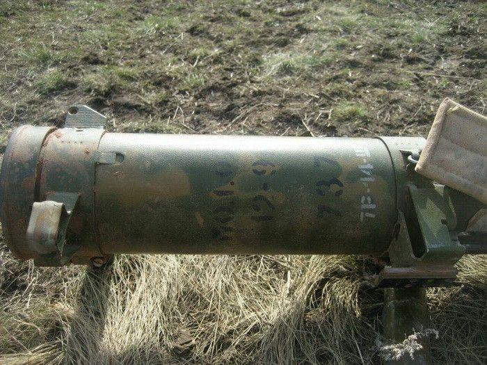 Российский огнемет в зоне АТО