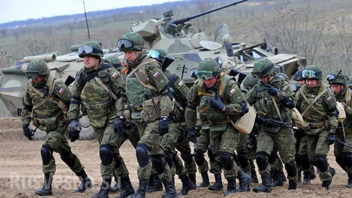 Российские войска, иллюстрация.