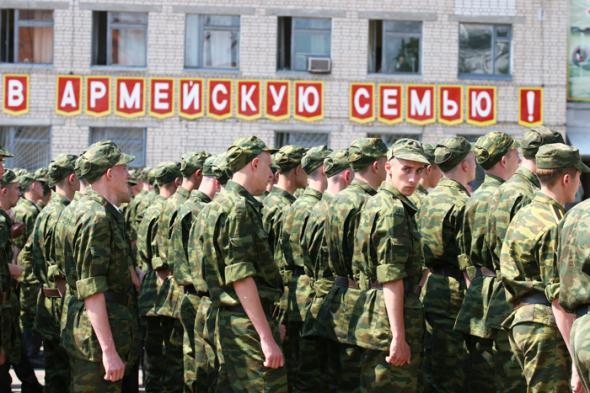 В данном случае российские солдаты для своих генералов не люди, а админресурс