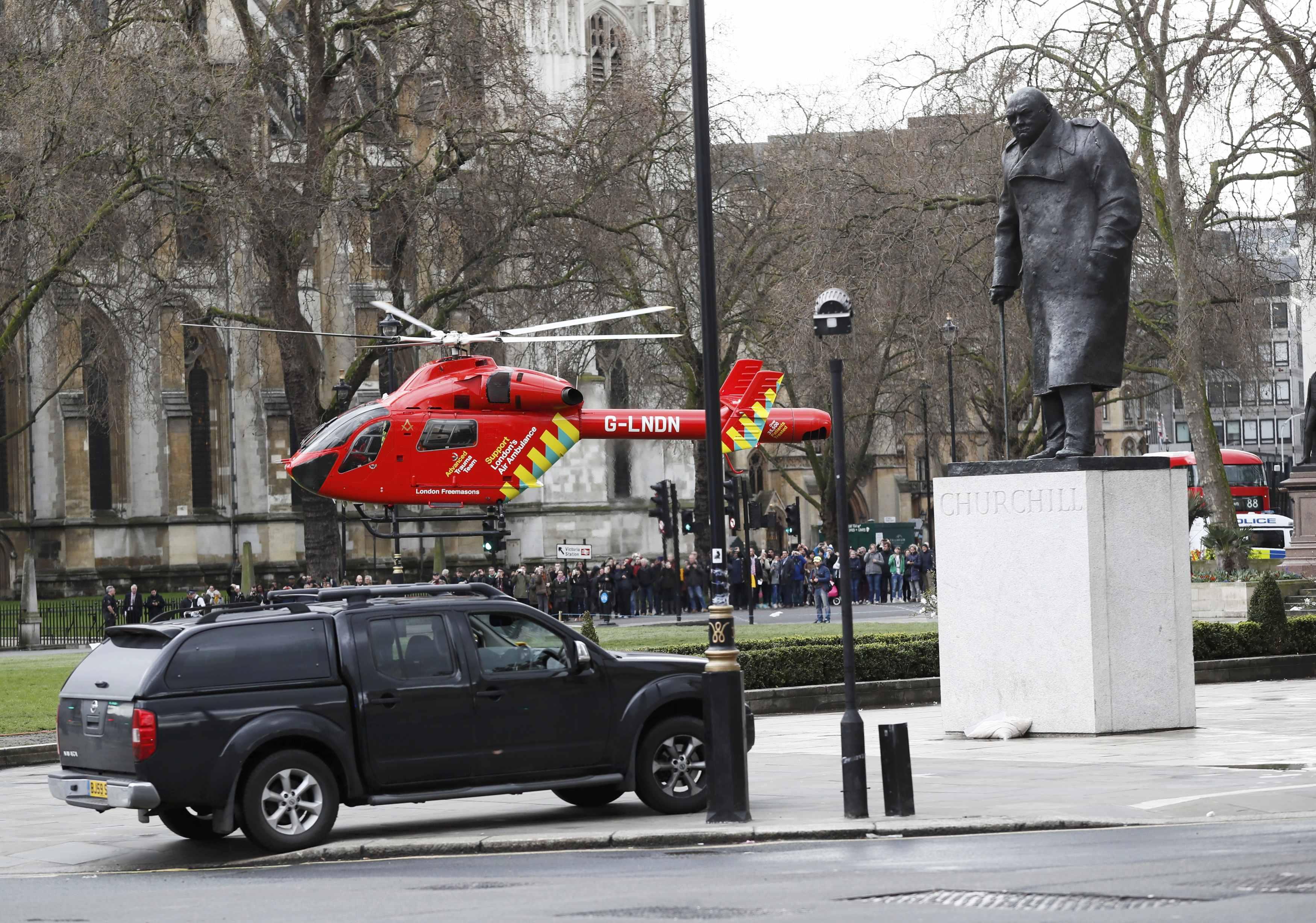 Теракт в центре Лондона