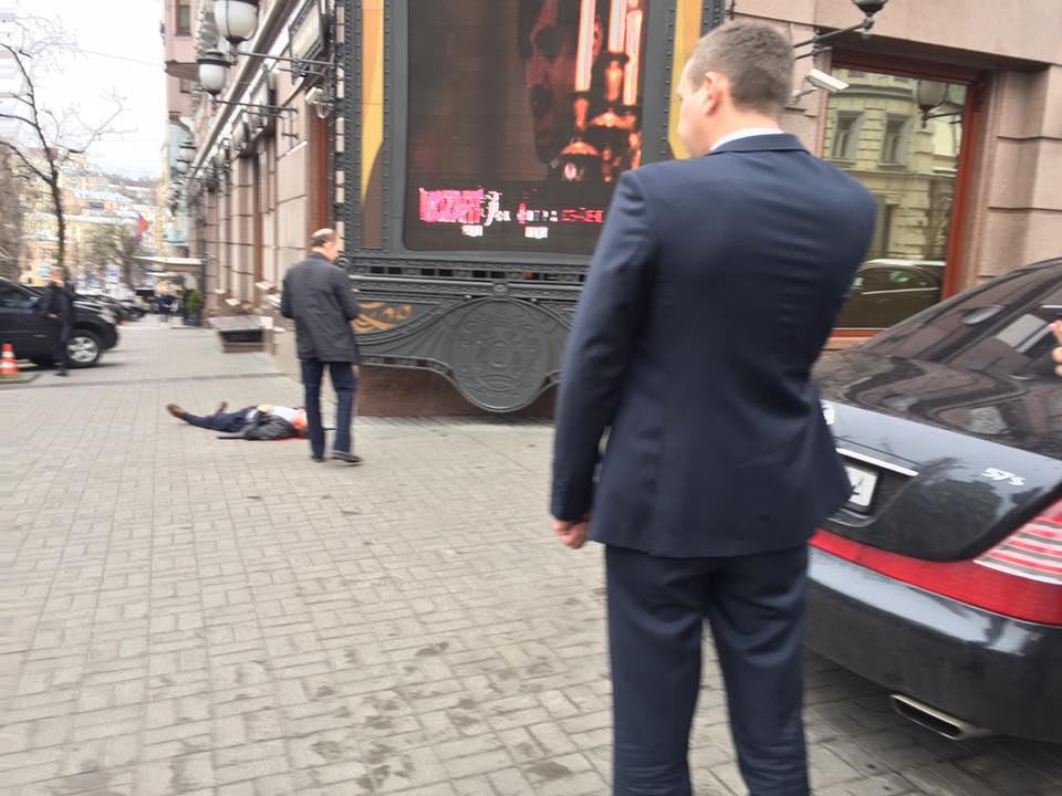 Убийство Вороненкова в центре Киева.