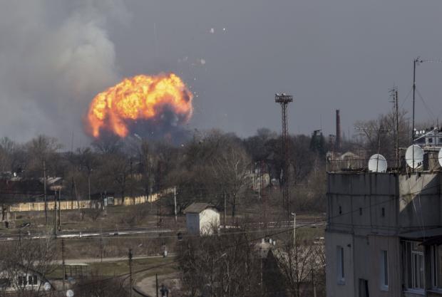 Взрыв под Балаклеей