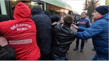 Задержание несогласных в Беларуси