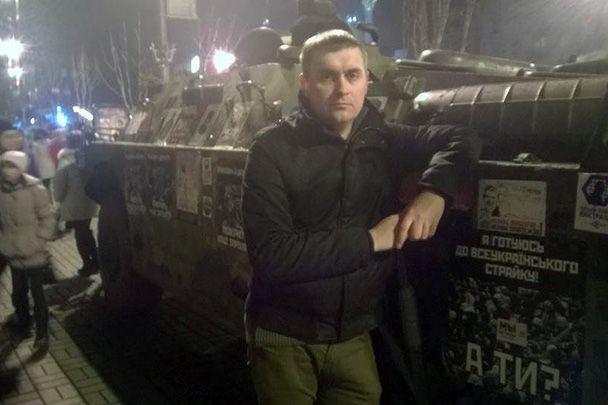 Андрей Стрижак на Майдане в Киеве