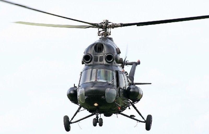 Под Краматорском разбился военный вертолет