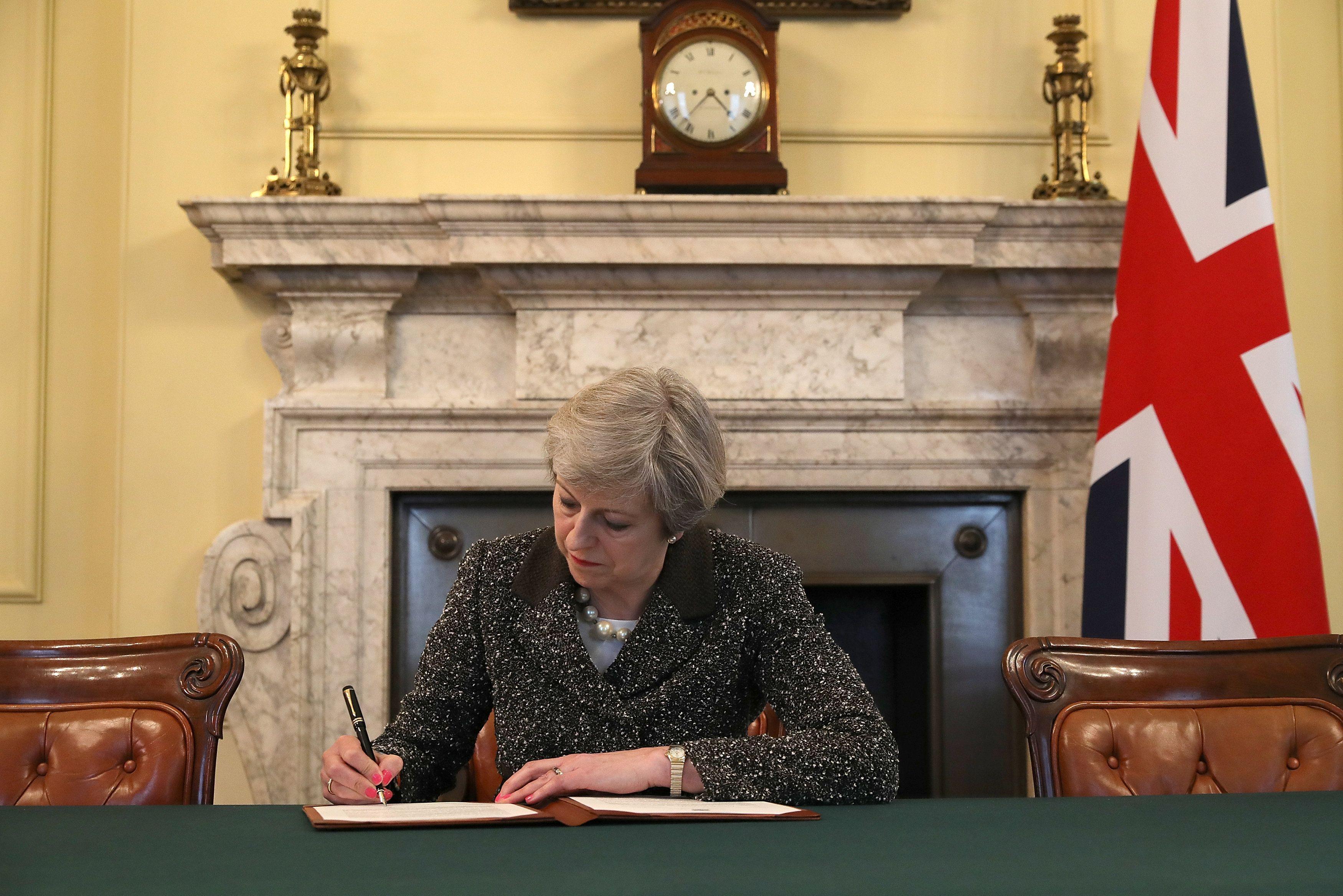 премьер, Британия, Тереза Мэй