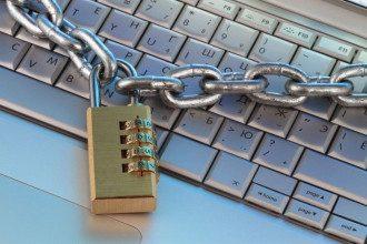 інтернет, цензура, ланцюги, комп'ютер, ноутбук