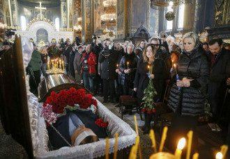 Похороны Вороненкова.