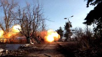 Бои на Донбассе