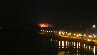 Якобы пожар, который видно в Киеве