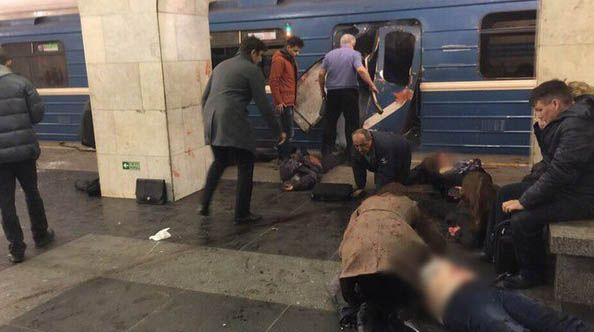 Теракт в метро Санкт-Петербурга
