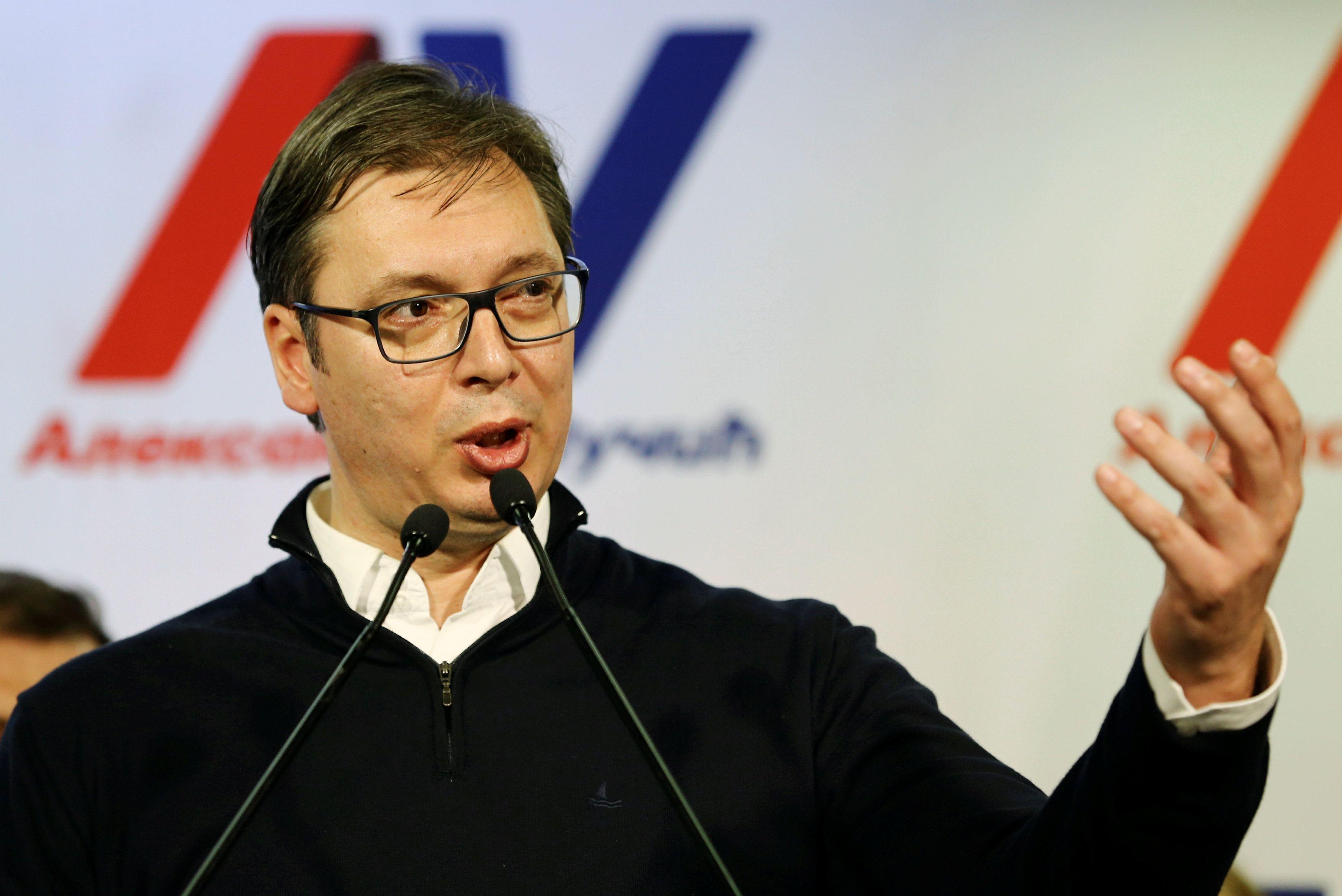 Александар Вучич сообщил, что Сербия пока не может признавать Крым