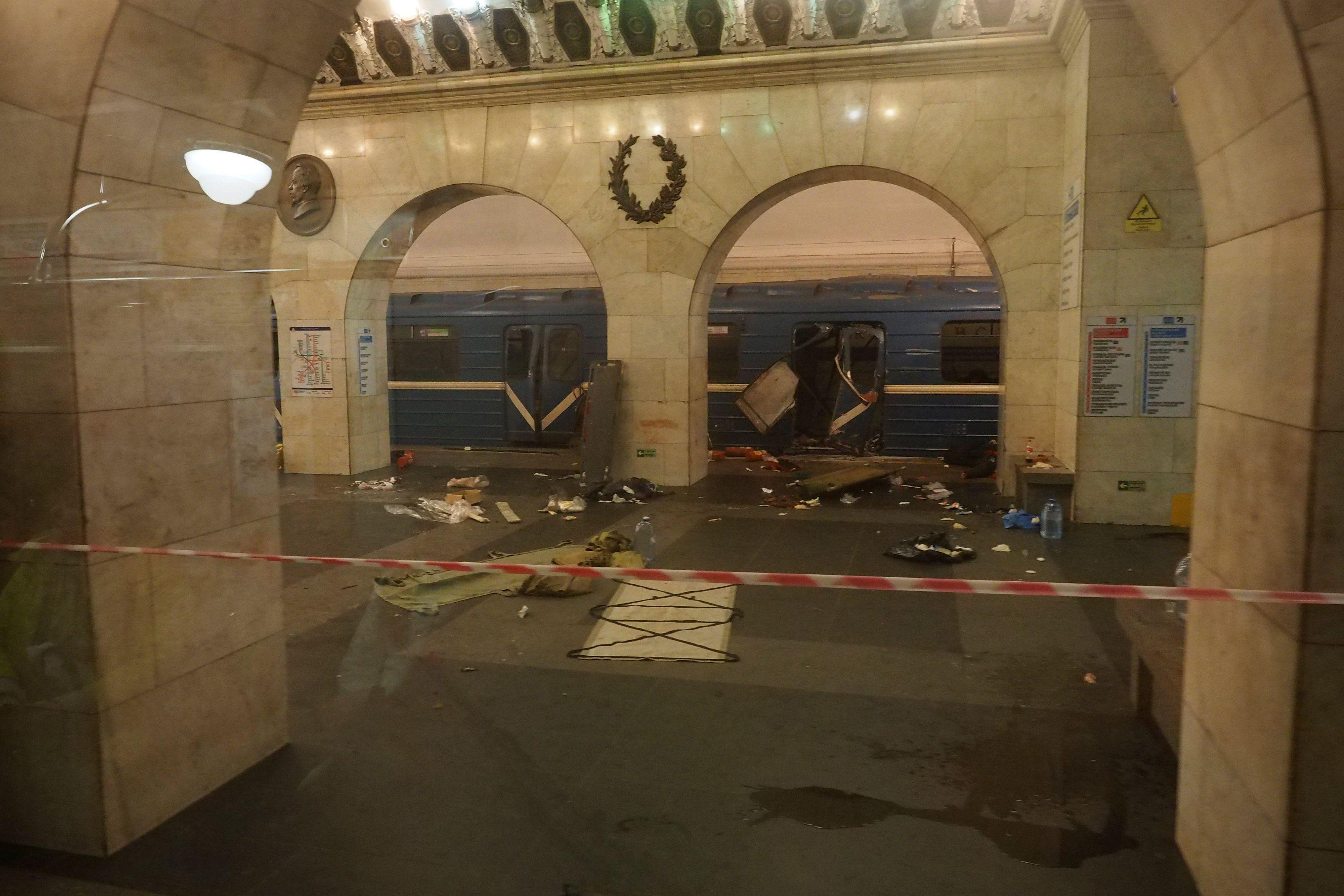 Последствия теракта в Питере