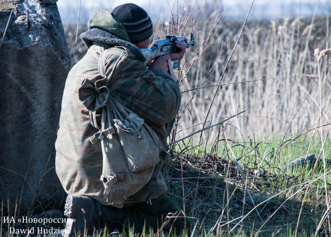 Диверсанты боевиков на Донбассе, иллюстрация.
