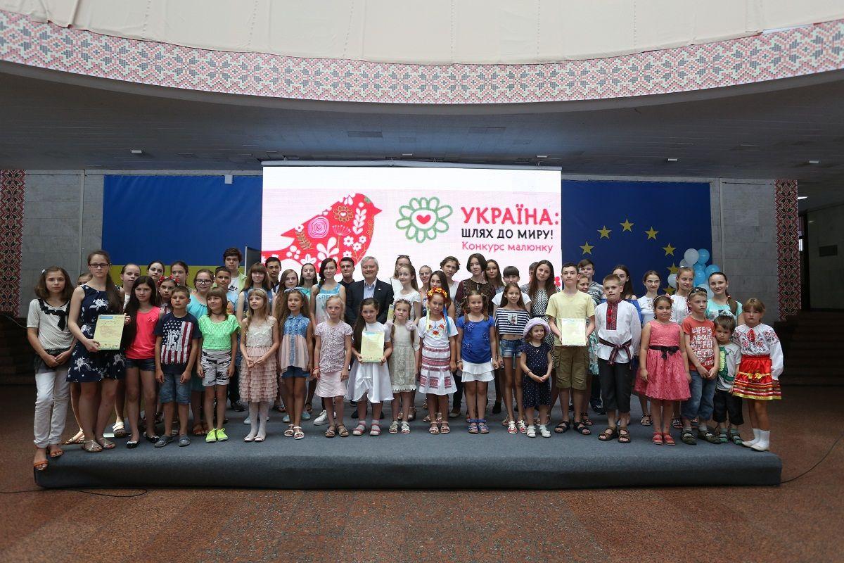Финалисты и победители прошлогоднего Конкурса детского рисунка