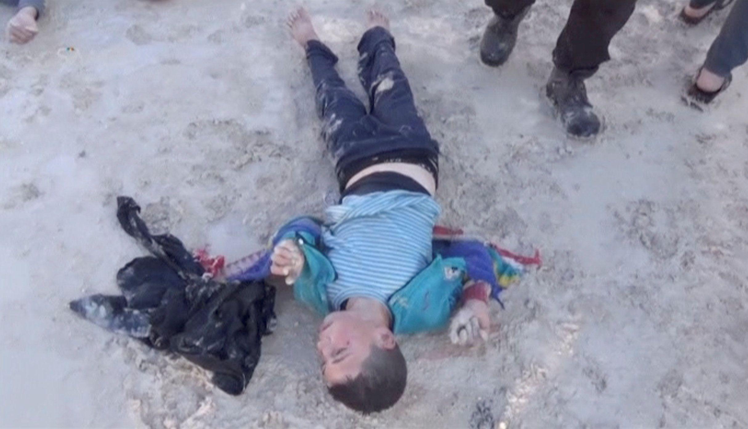 Химическая атака в Сирии, иллюстрация