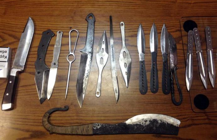Найденные ножи