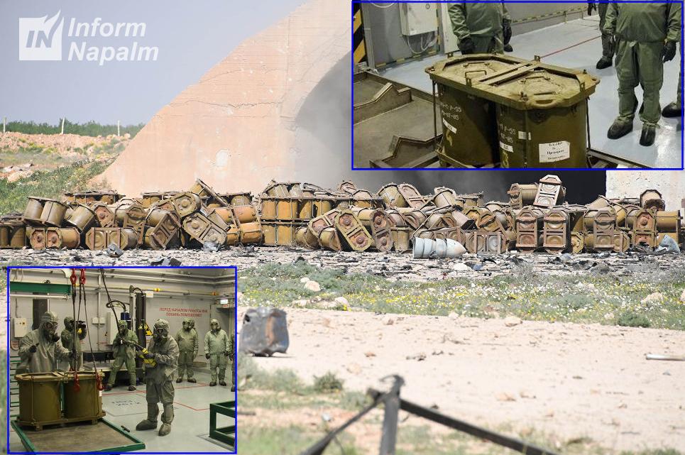 На авиабазе Асада нашли контейнеры для химоружия