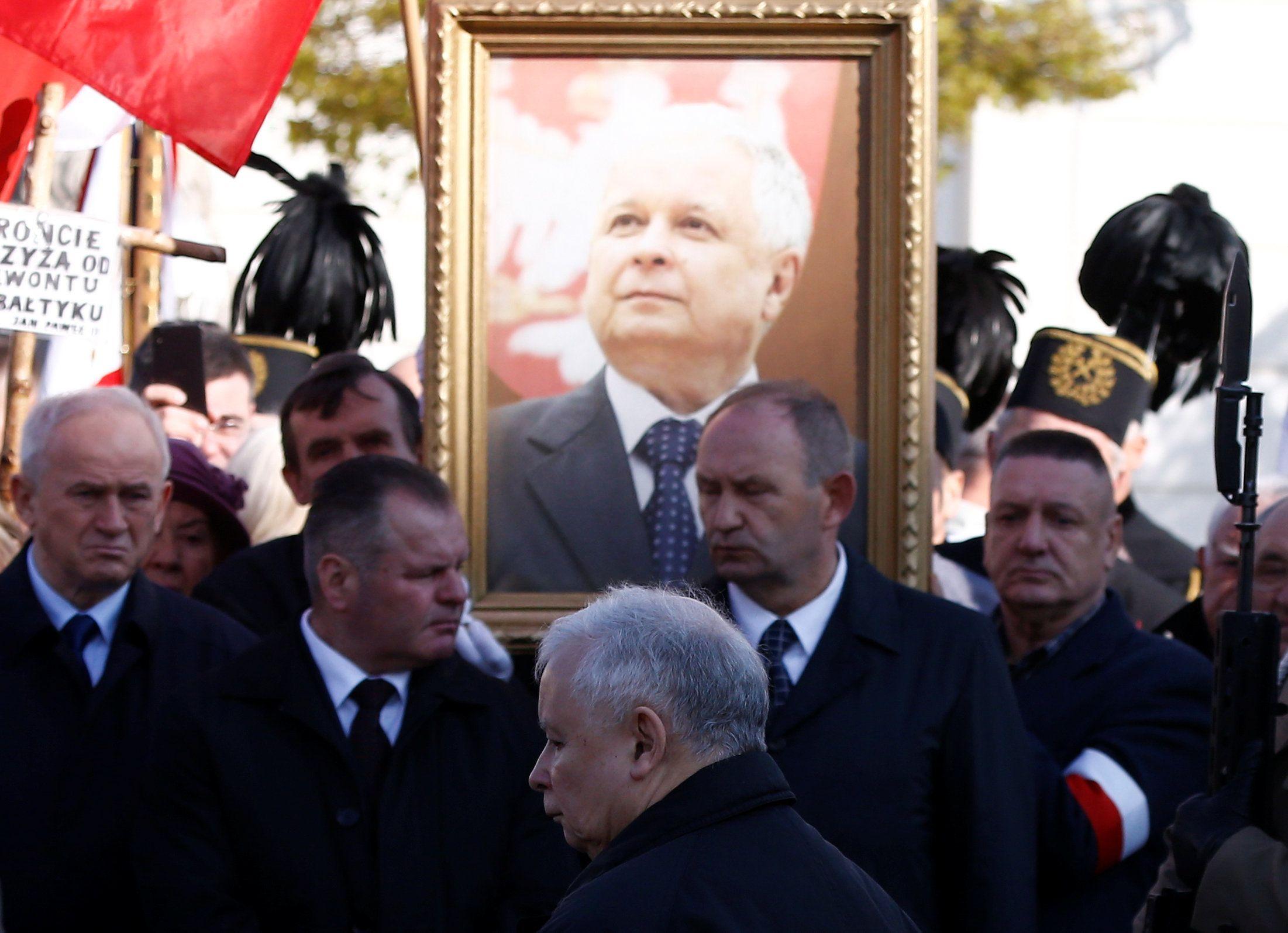 Экс-президент Польши Лех Качиньский.