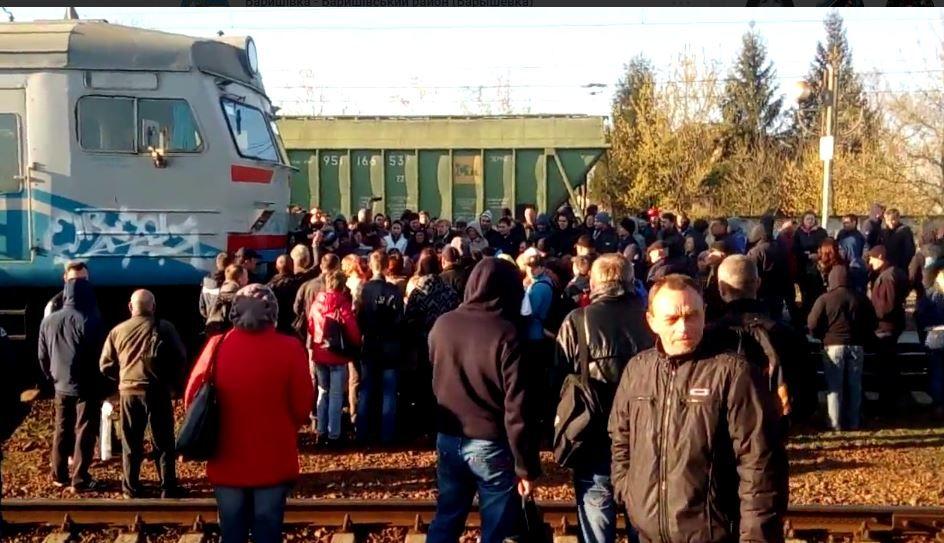 Протест в Барышевке.