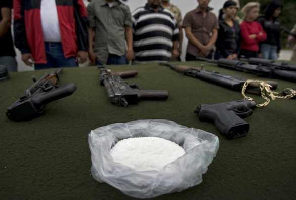 Оружие и наркотики