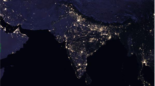 NASA показало уникальные новые фото и видео ночной Земли из космоса