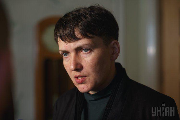 Надежда Савченко якобы виделась с