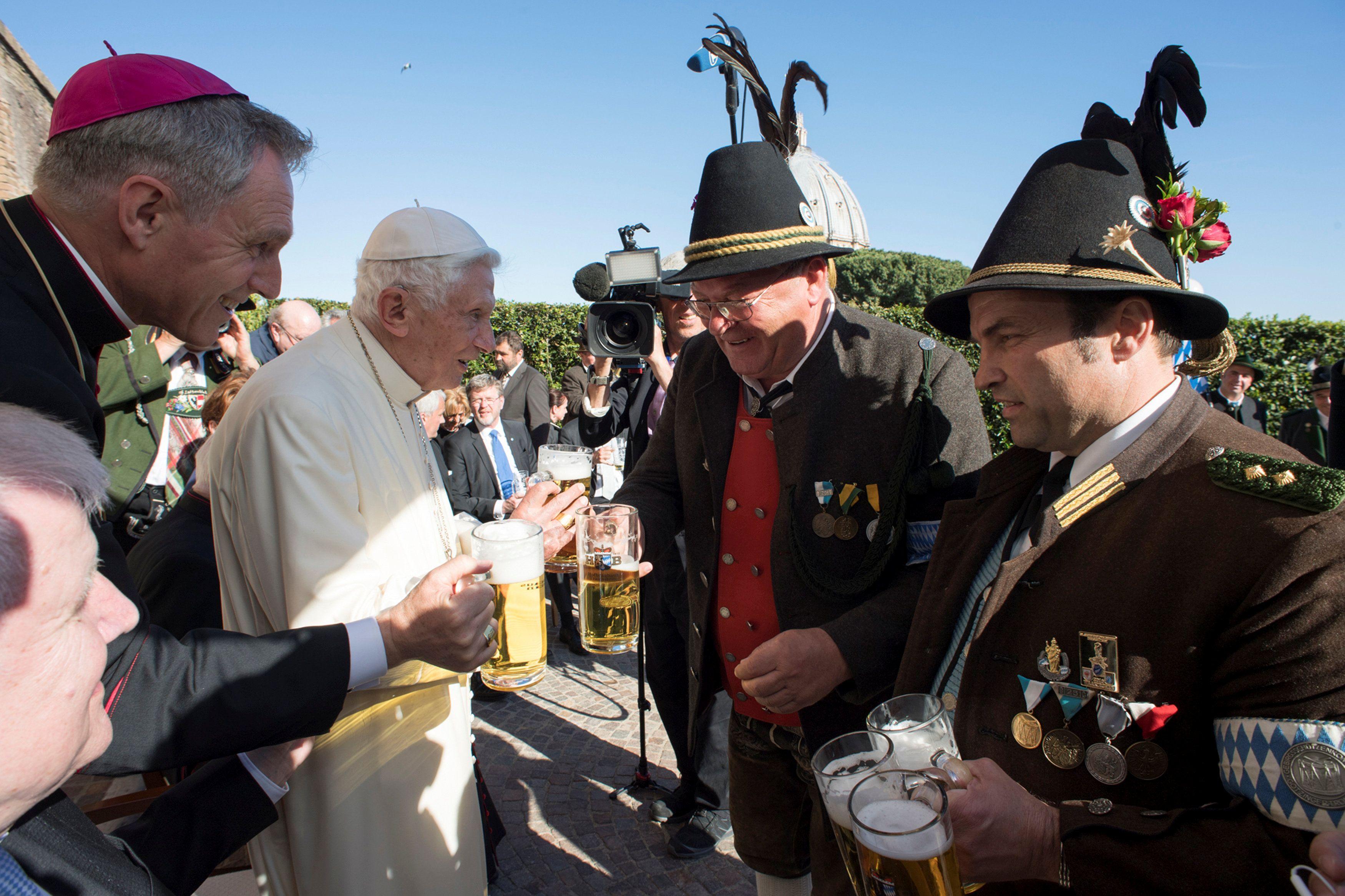 Делегация из Баварии у Бенедикта XVI