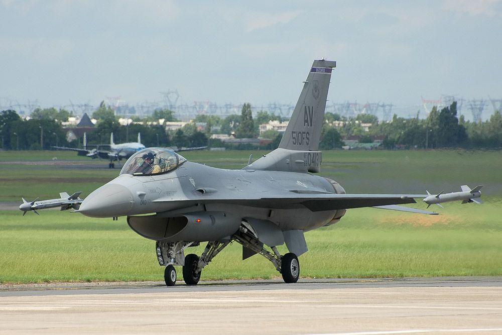 F-16CJ ВВС США