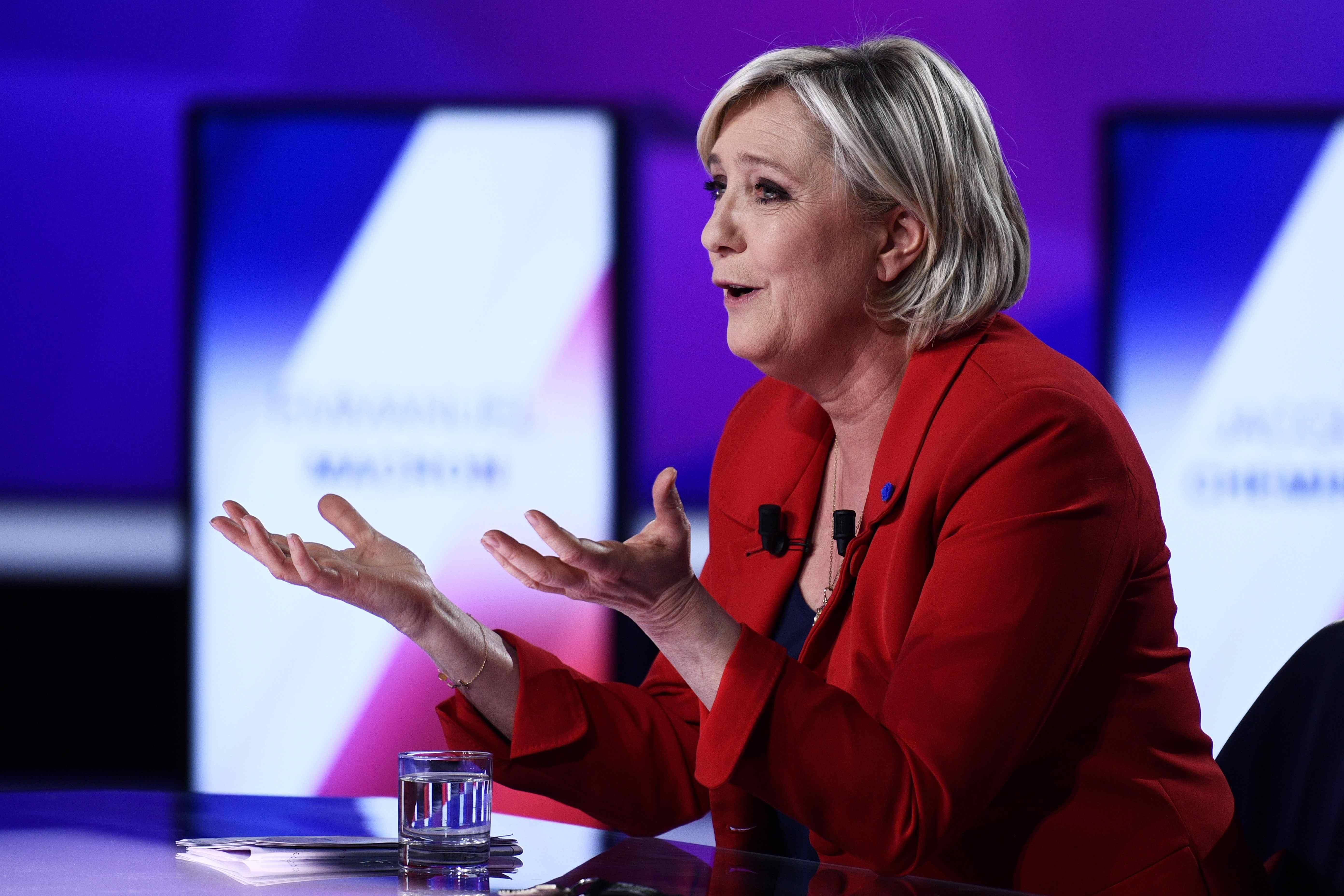 Марин Ле Пен возмущена судебным постановлением