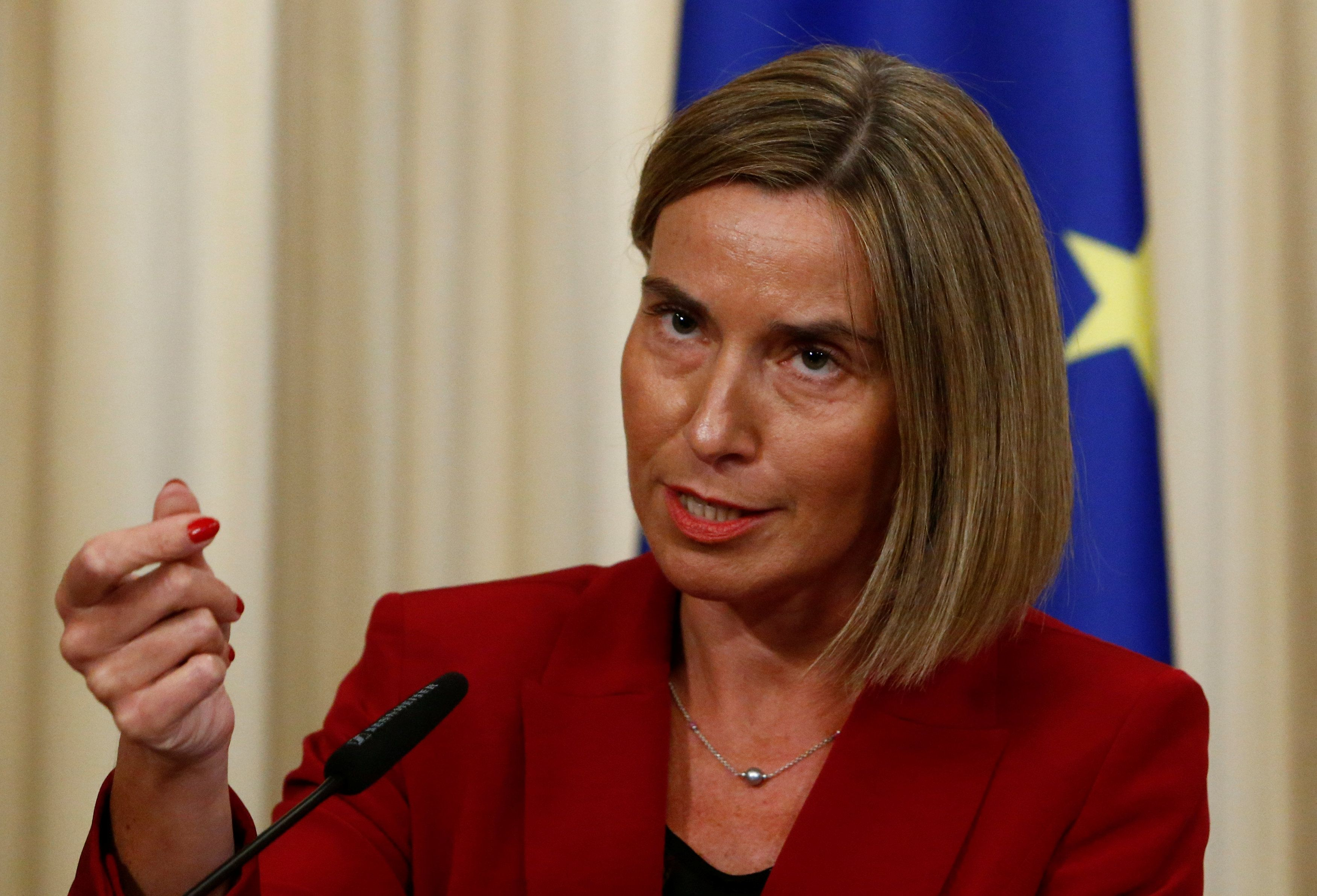 За последние годы Евросоюз инвестировал в Украину больше 15 миллиардов евро – Могерини
