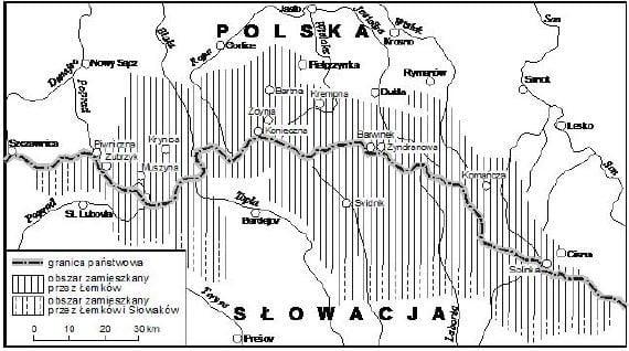 К 1947 году украинцы-лемки компактно проживали на своих исконных землях на юго-востоке Польши. Поэтому их рассеяли на землях, откуда так же принудительно депортировали немцев
