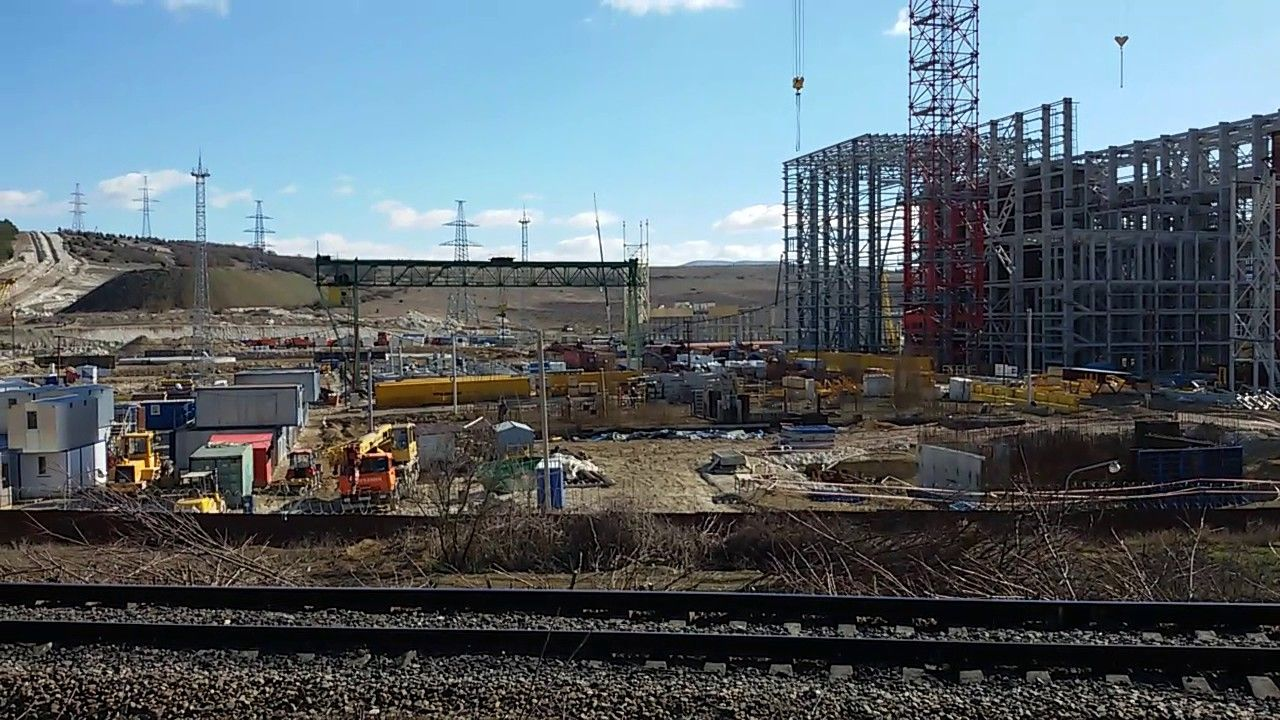 Строительство ТЭЦ в Севастополе.